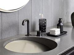 Lavabo in Corian® con pianoSLOPE - REXA DESIGN