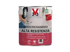 Smalto protettivo ad alta resistenza per suoli sollecitatiSMALTO PER PAVIMENTO ALTA RESISTENZA - V33 ITALIA
