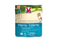 SMALTO PROTETTIVO PER PAVIMENTI INTERNI ED ESTERNISMALTO PER PAVIMENTO - V33 ITALIA