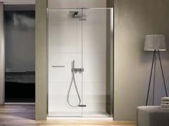 Box doccia in nicchia con porta a battente SMART SMNI - Smart