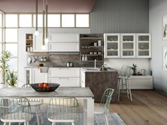 Cucina componibile con penisolaSMART 2 - CREO KITCHENS BY LUBE