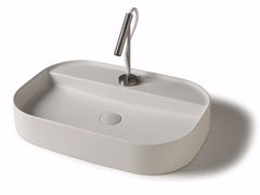 Lavabo da appoggio in ceramica SMART B  - 45x75 cm - Smart B