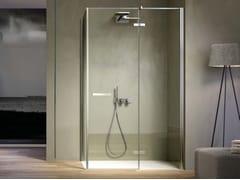 Box doccia con porta a battente con lato fisso SMART SMPO+SMFI - Smart
