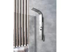 Colonna doccia a parete con doccettaSMERALDO - WEISS-STERN