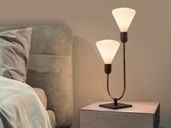 Lampada da tavolo a LED in ottoneSMITH | Lampada da tavolo - CATTANEO ILLUMINAZIONE