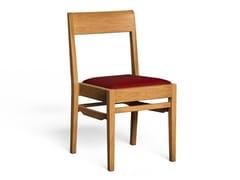 Sedia in legno con cuscino integratoSMITHFIELD - LUKE HUGHES & COMPANY