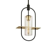 Lampada a sospensione per esterno in metallo e vetroSMYTH - HUDSON VALLEY LIGHTING GROUP