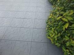 Pavimento per esterni drenante effetto pietraSNAPTILE - ONEK