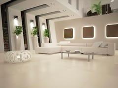 GranitiFiandre, SNOW Pavimento/rivestimento in gres porcellanato effetto cemento effetto resina