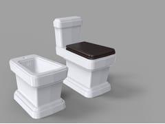 Wc monoblocco in ceramica SO FIFTIES | Wc monoblocco - So Fifties
