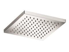 Soffione doccia a pioggia ultrapiatto in acciaio inox SO609 | Soffione doccia - Soffioni doccia