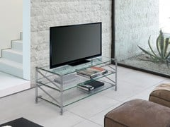 Mobile TV in metallo SOCRATE HOME | Mobile TV - Socrate