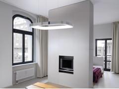 Lampada a sospensione a LED in alluminio con sistema RGB SOFT SQUARE - Soft Square