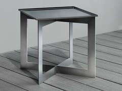 Tavolino quadrato in acciaio SOFT | Tavolino quadrato - Hd