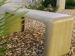 Panchina in cemento senza schienaleSOFTSHAPES (100) | Panchina - SIT