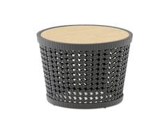 Tavolino da caffè rotondo in cordaSOGNI | Tavolino da caffè - JARDINICO