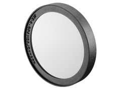 JEE-O, SOHO MIRROR Specchio rotondo in acciaio con cornice per bagno