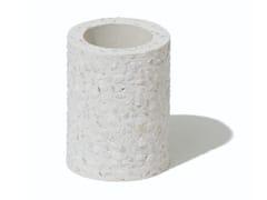 Portaspazzolino da appoggio in diatomiteSOIL - TOOTHBRUSH STAND MINI BIANCO - ARCHIPRODUCTS.COM