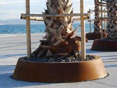 Griglia per alberi in acciaio Corten™SOLEA CYLINDRO-TRONCONIQUE | Griglia per alberi - CYRIA