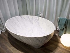 Vasca da bagno in marmo di Carrara SOLIDEA | Vasca da bagno in marmo di Carrara -