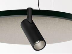 Lampada a sospensione acusticaSOLISCAPE 52 SHHH - DELTA LIGHT