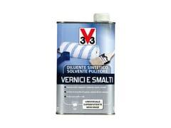 V33 Italia, SOLVENTE PULITORE VERNICI E SMALTI Diluente sintetico e solvente pulitore