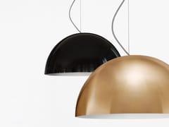 Lampada a sospensione a luce diretta in metallo SONORA - 408/437 -