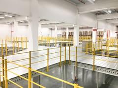 Soppalco in acciaioSOPPALCHI - SCAFFSYSTEM