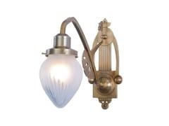 Lampada da parete fatta a mano in ottone SOPRON III | Lampada da parete - Sopron