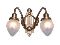 Lampada da parete fatta a mano in ottone SOPRON IV | Lampada da parete - Sopron