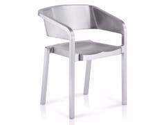 Sedia impilabile in alluminio SOSO | Sedia impilabile - SoSo