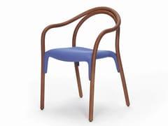 Sedia in frassino con seduta imbottitaSOUL SOFT 3747 - PEDRALI