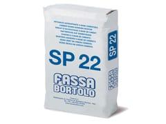Rinzaffo a base cementizia per superfici in calcestruzzoSP 22 - FASSA