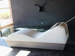 Chaise longue in ecopelle SPAA - GART ART & DESIGN GROUP