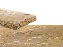 Rivestimento in pietra ricostruitaSPACCO | Bianco Reale - GEOPIETRA
