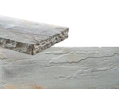Rivestimento in pietra ricostruitaSPACCO | Bianco Terra - GEOPIETRA