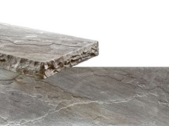 Rivestimento in pietra ricostruitaSPACCO | Grigio Terra - GEOPIETRA