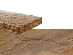 Rivestimento in pietra ricostruitaSPACCO | Marrone Terra - GEOPIETRA