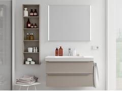 Mobili bagno con specchioSPAZIA 03 - BERLONI BAGNO