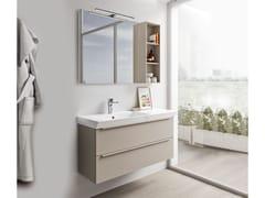 Mobili bagno con specchioSPAZIA 05 - BERLONI BAGNO