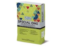 FASSA, SPECIAL ONE Adesivo grigio per pavimenti a letto pieno