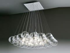 Lampada a sospensione a luce diretta alogena in cristallo SPHERE 37   Lampada a sospensione - Sphere
