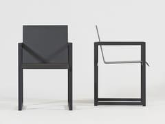 Sedia in alluminio con braccioliSPIKES   Sedia con braccioli - SACHI