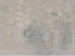 Carta da parati ignifuga in fibra di vetro con motivi florealiSPITALFIELD - TECNOGRAFICA