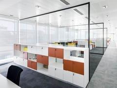Pareti divisorie in vetro per ufficioSPLIT - IOC PROJECT PARTNERS