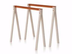 Cavalletto in alluminio e legnoSPLIT TRESTLE - NOMESS COPENHAGEN