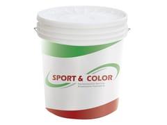 Rivestimento pedonabile a spessore a base di resine stiroloSPORT&COLOR - CIMAR PRODUZIONE