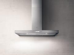 Cappa in acciaio inox a parete con illuminazione integrataSPOT PLUS - ELICA