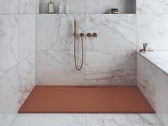 Piatto doccia rettangolare in Silexpol®SPRING - FIORA
