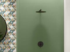 Rivestimento rettificato in ceramica a pasta bianca per interniSPRING GREEN - CERAMICA SANT'AGOSTINO